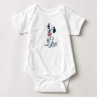 101 Dalmatian Patches Wagging his Tail Disney Baby Bodysuit Zazzle_shirt