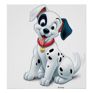 101 Dalmatian Patches Wagging his Tail Disney Posters