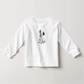 101 Dalmatian Patches Wagging his Tail Disney Toddler T-shirt Zazzle_shirt