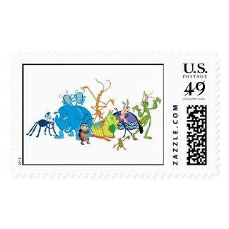 A Bug's Life Characters P.T. Flea Francis et. al. Postage Stamp
