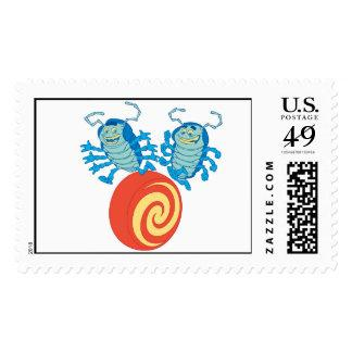 A Bug's Life's Tuck And Roll playing Disney Postage Stamp