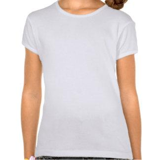 Alice in Wonderland's Alice and Dinah in Circle Tees Zazzle_shirt
