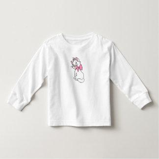 Aristocats' Marie Sitting facing backward Disney Toddler T-shirt Zazzle_shirt
