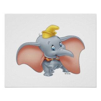 Baby Dumbo walking Poster Zazzle_print