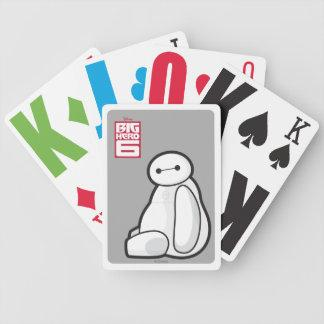Baymax Sideways Sitting Playing Cards