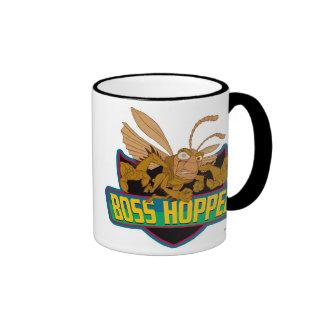 Boss Hopper Logo Disney Ringer Coffee Mug