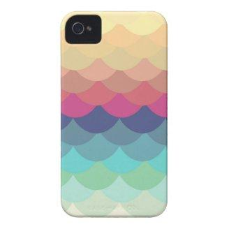 Bright Scallop Summer Pattern iPhone 4/4S Case Iphone 4 Covers