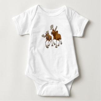 Brother Bear Rutt and Tuke walking Disney Baby Bodysuit
