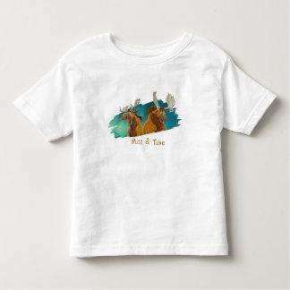 Brother Bear Rutt & Tuke moose Disney Shirts