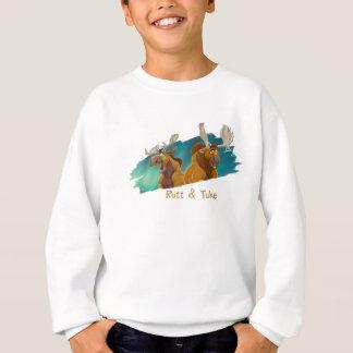 Brother Bear Rutt & Tuke moose Disney Sweatshirt