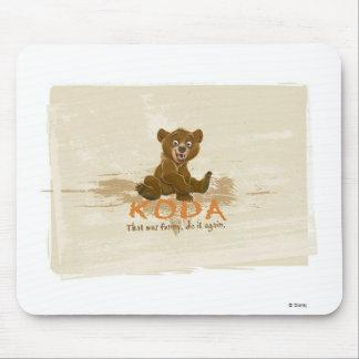 Brother Bear's Koda sitting Disney Mouse Pad Zazzle_mousepad