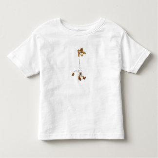 Chip 'n' Dale Nut Fight Disney T Shirt Zazzle_shirt