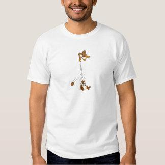 Chip 'n' Dale Nut Fight Disney T-Shirt Zazzle_shirt