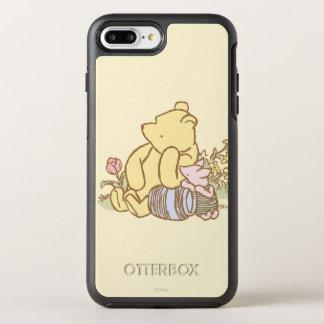 Classic Winnie the Pooh and Piglet 1 OtterBox Symmetry iPhone 7 Plus Case