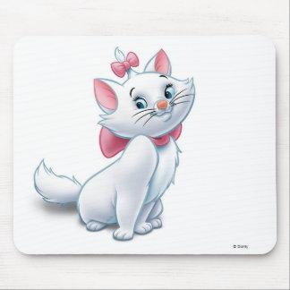 Cute Aristocats White and Pink Cat Disney Mouse Pad