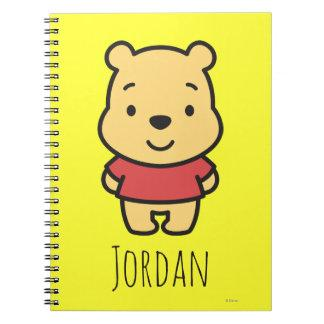 Cuties Winnie the Pooh - Personalized Spiral Notebook