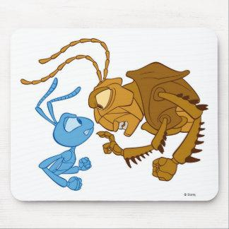 Disney Bug's Life Flik and Hopper Mouse Pad