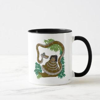 Disney Jungle Book Kaa with Mowgli Mug