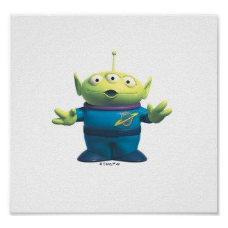 Disney Toy Story Alien Print