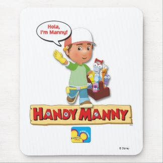 Handy Manny Disney Mouse Pad
