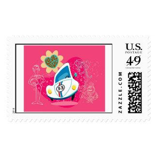 Herbie the Love Bug Disney Postage Zazzle_stamp