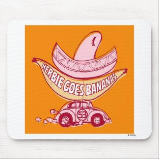 Herbie The Love Bug Herbie Goes Bananas Disney Mouse Pad