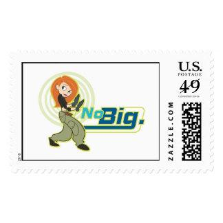 "Kim Possible ""No Big"" Disney Postage Stamp"