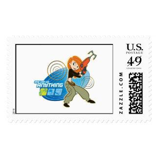 "Kim Possible ""She Can do Anything"" Disney Postage Stamp"