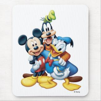 Mickey, Goofy, and Donald Mouse Pad Zazzle_mousepad