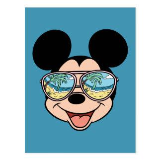 Mickey | Mickey Tropical Sunglasses Postcard