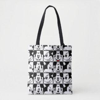 Mickey Mouse | Grid Pattern Tote Bag Manualww_tote