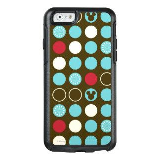 Mickey Mouse   Retro Polka Dot Pattern OtterBox iPhone 6/6s Case