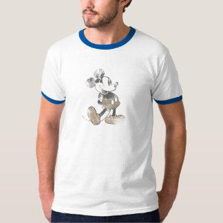 Mickey Mouse Vintage Washout Design T Shirts