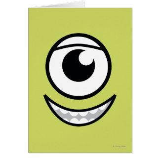Mike Face Greeting Card