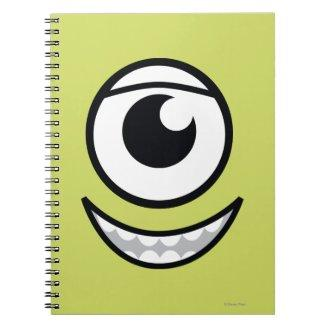 Mike Face Spiral Notebook