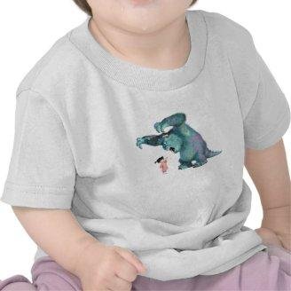 Monsters, Inc. Sulley Scares Boo Disney Tees