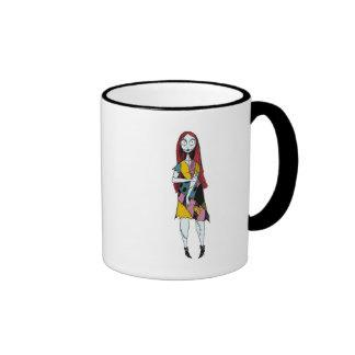 Nightmare Before Christmas Sally standing Ringer Coffee Mug