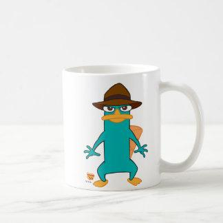 Phineas and Ferb Agent P platypus in hat standing Mug