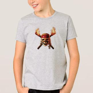 Pirates of the Caribbean Skull torches Logo Disney Shirt