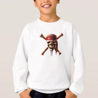 Pirates of the Caribbean skull torches Logo Disney Sweatshirt Zazzle_shirt