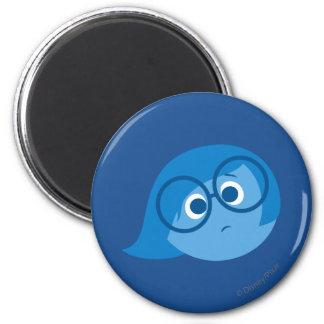 Sadness 2 2 inch round magnet Zazzle_magnet