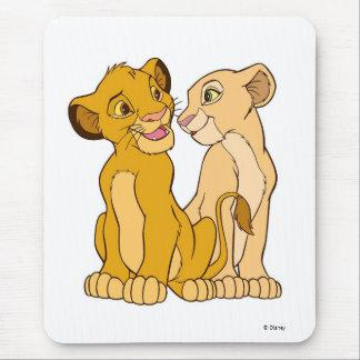 Simba and Nala Disney Mouse Pad