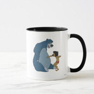 The Jungle Book Baloo and Mowgli Disney Mug