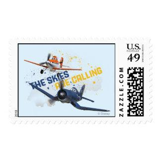 The Skies are Calling Stamps
