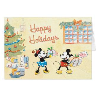 Tied Parcels Disney Greeting Card