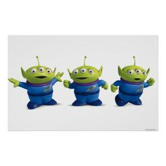 Toy Story 3 - Aliens Posters Print