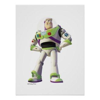 Toy Story Buzz Lightyear standing hands on hips Posters Print