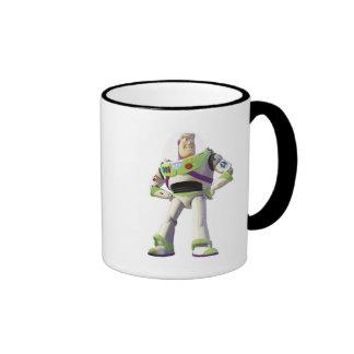 Toy Story Buzz Lightyear standing hands on hips Ringer Mug