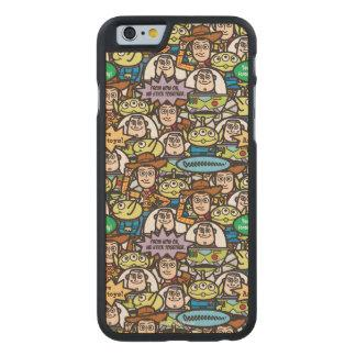 Toy Story   Cute Toy Pattern Carved® Maple iPhone 6 Case