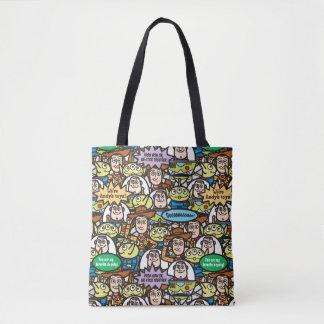 Toy Story   Cute Toy Pattern Tote Bag